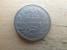 Chili  20  Centavos  1922  Km 167.1 - Chile