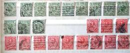 1911 -1912 King George V - Used Stamps