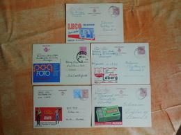 Lot De 5 Entiers Postaux Publibel (M7) - Stamped Stationery