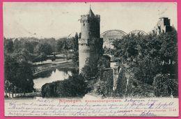 Nijmegen - Kronenburgerpark - Spoorbrug - Tour - S. BAKKER - 1902 - Nijmegen
