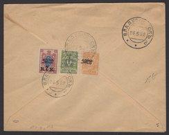 RUSSIE: Enveloppe Avec Affranchissement à 3 Timbres émissions De VLADIVOSTOK  Oblt 1922 Non Voyagée - Sibérie Et Extrême Orient
