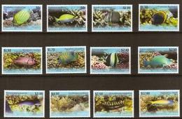 Penrhyn 2013 Yvertn° 534-545 *** MNH Cote 65 Euro Faune Poissons Vissen Fish Coraux - Penrhyn