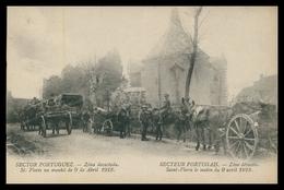 PORTUGAL«1ª GUERRA MUNDIAL»-Sector Portuguez -Zona Devastada-St. Floris, 9 De Abril 1918(Ed.Levy Fils & Cª)carte Postale - Guerra 1914-18