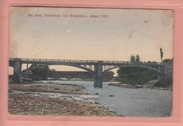 OUDE POSTKAART ZWITSERLAND - SCHWEIZ -    WEINFELDEN - NEUE THURBRUECKE 1912 - TG Thurgovie