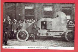 BELGIQUE AUTO MITRAILLEUSE BELGE GUERRE 1914 1918 WWI - Guerra 1914-18