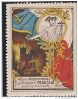 FRANCE > ERINNOPHILIE >  VIGNETTES DE PROPAGANDES > Rappelez Vous De 1914. Plus De Produits Boches. Les Produits Françai - Erinnophilie
