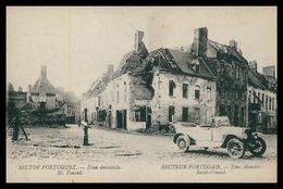 PORTUGAL«1ª GUERRA MUNDIAL» - Sector Portuguez -Zona Devastada-St. Venant(Ed.Levy Fils & Cª)carte Postale - Guerra 1914-18