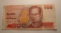 1994 - Thailande - Thailand - 100 BAHT, RAMA IX, 1C 0258811 - Thailand