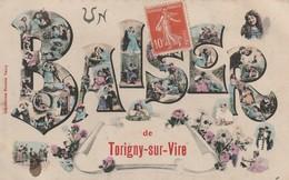 50/ Un Baiser De Torigny Sur Vire - Carte écrite En 1907 - France