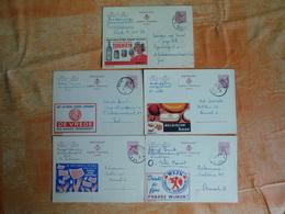 Lot De 5 Entiers Postaux Publibel (O7) - Stamped Stationery