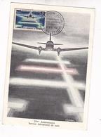 CARTE MAXIMUM / GANDON 1964 / PREMIER JOUR BOURGET AEROSPATIAL / RARE - Maximum Cards
