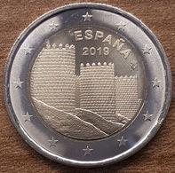 2 € ESPAGNE 2019 AVILA - Espagne