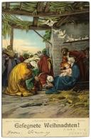 Gesegnete Weihnachten! L'Adorizione Dei Magi By Barabino C1914 - Stengel & Co - Christmas