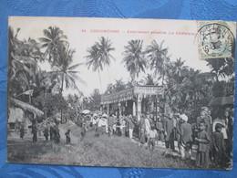 Cochinchine . Enterrement Annamite . Le Catafalquer - Viêt-Nam