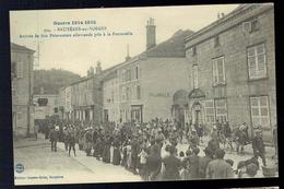 CPA 88 - Bruyères En Vosges - Arrivée De 800 Prisonniers Allemands Pris à La Fontenelle - Edition Guerre Briot 1915 - Bruyeres