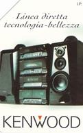 SCHEDA TELEFONICA  KENWOOD LINEA DIRETTA  SCADENZA 30/06/1997 USATA - Italy