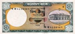 Bangladesh 20 Taka, P-48a (2006) - UNC - Signature 9 - Bangladesh