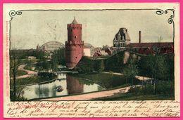 Nijmegen - Kronenburger Park - Tour - Etang - Spoorbrug - Edit. S. BAKKER - Oblit. B 174 - 1906 - Nijmegen