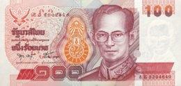 Thailand 100 Bath, P-97 (1994) - UNC - Sign. 57/last Sign. - Thailand