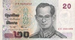 Thailand 20 Bath, P-109 (2003) - UNC - Signature 75 - Thailand