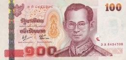 Thailand 100 Bath, P-114 (2005) - UNC - Signature 76 - Thailand