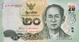 Thailand 20 Bath, P-118 (2013) - UNC - Thailand