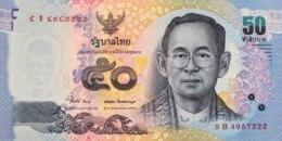 Thailand 50 Bath, P-119 (2012) - UNC - Thailand