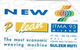 SCHEDA TELEFONICA  SULZER RUTI  SCADENZA 30/06/1997 USATA - Italy