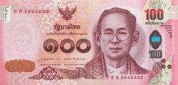 Thailand 100 Bath, P-120 (2015) - UNC - Thailand