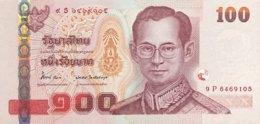 Thailand 100 Bath, P-126 (2012) - UNC - 50th Birthday Crown Prince - Thailand