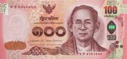 Thailand 100 Bath, P-127 (2015) - UNC - Pincess Birthday Banknote - Thailand