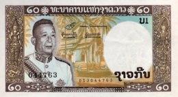Laos 20 Kip, P-11b (1963) - UNC - Signature 6 - Laos