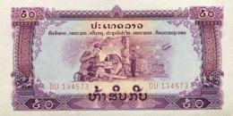Laos 50 Kip, P-22b - UNC - Laos