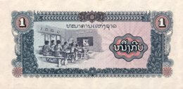 Laos 1 Kip, P-25a (1979) - UNC - Laos