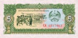 Laos 5 Kip, P-26a (1979) - UNC - Laos
