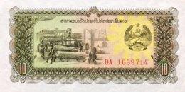 Laos 10 Kip, P-27a (1979) - UNC - Laos