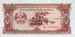 Laos 20 Kip, P-28a (1979) - UNC - Laos