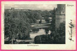 Nijmegen - Kronenburger Park - Tour - Etang - Spoorbrug - Uitg. H.S. SPEELMAN - Oblit. B 26 - 1902 - Nijmegen