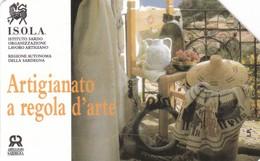SCHEDA TELEFONICA  ISOLA ARTIGIANATO A REGOLA D' ARTE  SCADENZA 30/06/1997 USATA - Italy