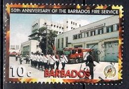 Barbados 2005 - The 50th Anniversary Of The Barbados Fire Service - Barbados (1966-...)