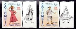 Serie De Colombia N ºYvert 1067/68 ** - Colombie