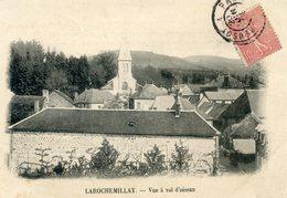 58  LAROCHEMILLAY  VUE A VOL D'OISEAU - Other Municipalities