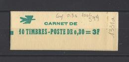 FRANCE.  YT  Carnet  N° 1331A C1  Neuf ** - Carnets
