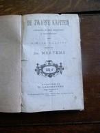 Oud Boekje  De ZWARTE  KAPITEIN  Door  Rosier  FAASEN Muziek Jos MERTENS 1877 - Poésie