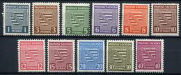 43539) SBZ # 73-84 Y Postfrisch Aus 1945, 45.- € - Soviet Zone