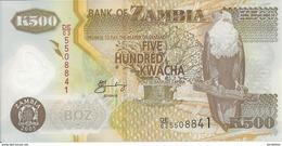 ZAMBIE 500 KWACHA 2005 UNC P 43 D - Zambie
