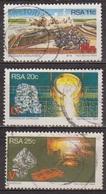 Ressources Minières Stratégiques - AFRIQUE DU SUD - Manganèse, Chrome, Vanadium - N° 552-553-554 - 1984 - Afrique Du Sud (1961-...)