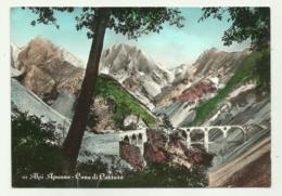 ALPI APUANE - CAVE DI CARRARA - VIAGGIATA   FG - Massa