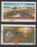 Ressources Minières Stratégiques - AFRIQUE DU SUD - Manganè, Vanadium - N° 552-554 - 1984 - Afrique Du Sud (1961-...)