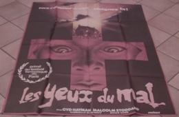 AFFICHE CINEMA ORIGINALE FILM LES YEUX DU MAL BEAUMONT Cyd HAYMAN Malcolm STODDARD 1980 HORREUR - Affiches & Posters